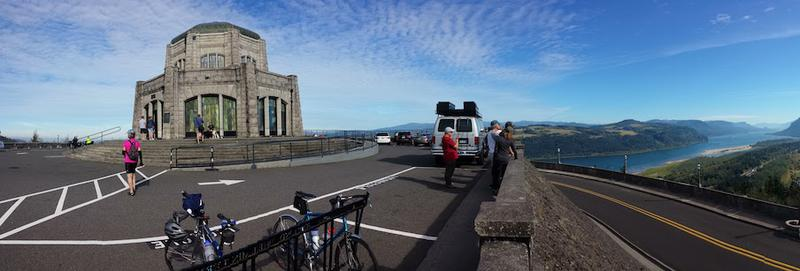 Vista House at Crown Point on the Columbia River